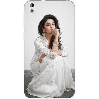 Enhance Your Phone Bollywood Superstar Alia Bhatt Back Cover Case For HTC Desire 816