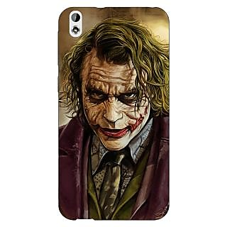 Enhance Your Phone Villain Joker Back Cover Case For HTC Desire 816 Dual Sim