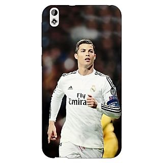Enhance Your Phone Cristiano Ronaldo Real Madrid Back Cover Case For HTC Desire 816 Dual Sim