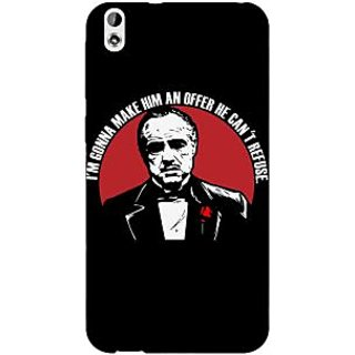 Enhance Your Phone The Godfather Back Cover Case For HTC Desire 816 Dual Sim