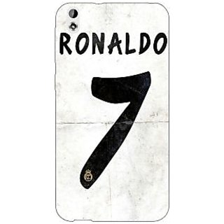 Enhance Your Phone Real Madrid Ronaldo Back Cover Case For HTC Desire 816