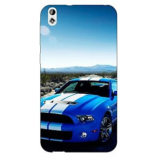 Enhance Your Phone Super Car Mustang Back Cover Case For HTC Desire 816 Dual Sim
