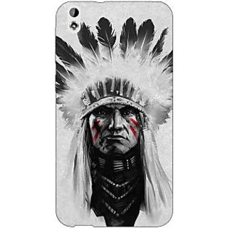 Enhance Your Phone Triabl Man Back Cover Case For HTC Desire 816