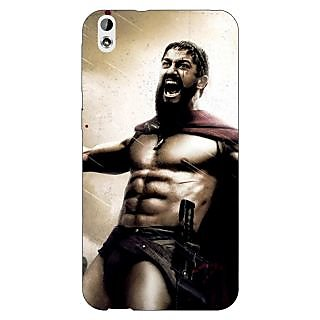 Enhance Your Phone King Leonidas Spartan Back Cover Case For HTC Desire 816