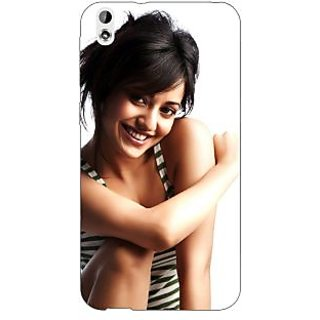 Enhance Your Phone Bollywood Superstar Neha Sharma Back Cover Case For HTC Desire 816