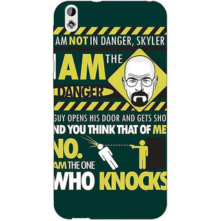 Enhance Your Phone Breaking Bad Heisenberg Back Cover Case For HTC Desire 816 Dual Sim