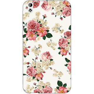Enhance Your Phone Floral Pattern  Back Cover Case For HTC Desire 816