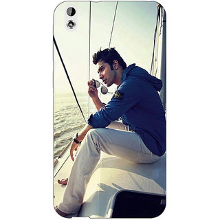 Enhance Your Phone Bollywood Superstar Varun Dhawan Back Cover Case For HTC Desire 816