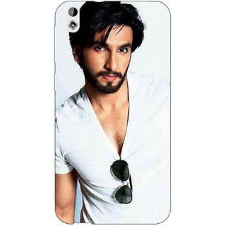 Enhance Your Phone Bollywood Superstar Ranveer Singh Back Cover Case For HTC Desire 816