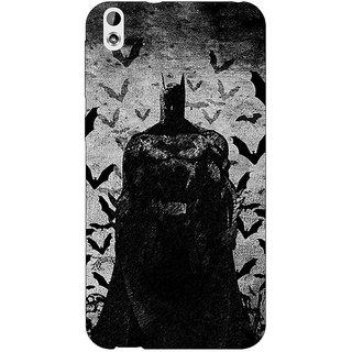 Enhance Your Phone Superheroes Batman Dark knight Back Cover Case For HTC Desire 816G