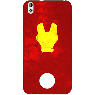 Enhance Your Phone Superheroes Ironman Back Cover Case For HTC Desire 816G