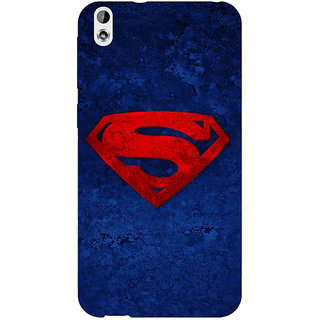Enhance Your Phone Superheroes Superman Back Cover Case For HTC Desire 816G