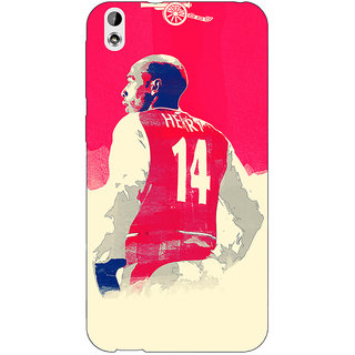 Enhance Your Phone Arsenal Therry Henry Back Cover Case For HTC Desire 816 Dual Sim