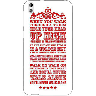 Enhance Your Phone Liverpool Back Cover Case For HTC Desire 816G