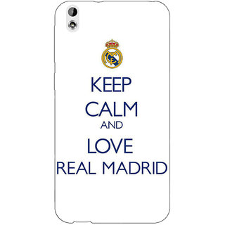 Enhance Your Phone Real Madrid Back Cover Case For HTC Desire 816G