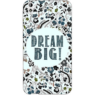 Enhance Your Phone Dream Quote Back Cover Case For HTC Desire 816 Dual Sim