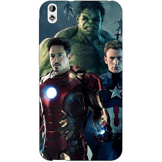 Enhance Your Phone Super Heroes Avengers Age of Ultron Back Cover Case For HTC Desire 816 Dual Sim