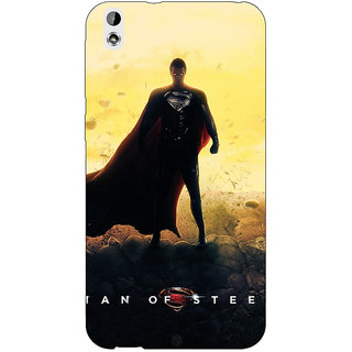 Enhance Your Phone Superheroes Superman Back Cover Case For HTC Desire 816 Dual Sim