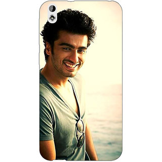 Enhance Your Phone Bollywood Superstar Arjun Kapoor Back Cover Case For HTC Desire 816G