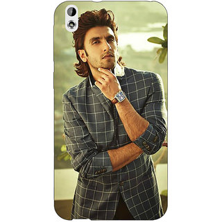 Enhance Your Phone Bollywood Superstar Ranveer Singh Back Cover Case For HTC Desire 816G