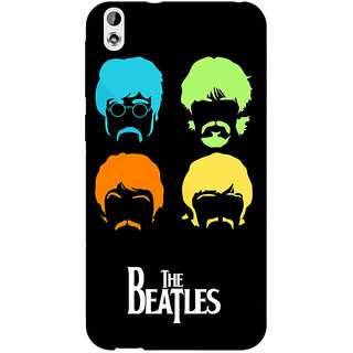 Enhance Your Phone The Beatles Back Cover Case For HTC Desire 816 Dual Sim