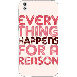 Enhance Your Phone Good Quote Back Cover Case For HTC Desire 816 Dual Sim