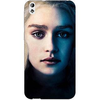 Enhance Your Phone Game Of Thrones GOT Khaleesi Daenerys Targaryen Back Cover Case For HTC Desire 816G