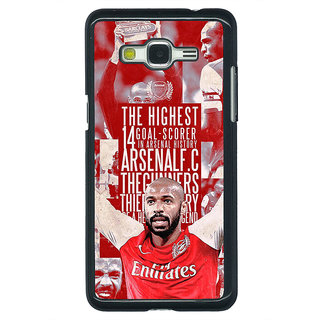 Enhance Your Phone Arsenal Therry Henry Back Cover Case For Samsung Galaxy J5 E630514