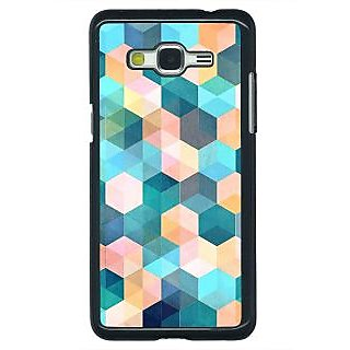 Enhance Your Phone Blue Hexagon Pattern Back Cover Case For Samsung Galaxy J5 E630277