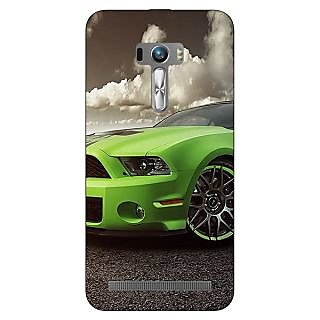 Enhance Your Phone Super Car Mustang Back Cover Case For Asus Zenfone Selfie