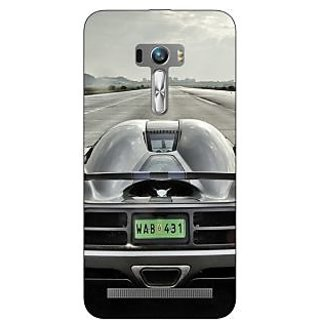 Enhance Your Phone Super Car Koenigsegg Back Cover Case For Asus Zenfone Selfie
