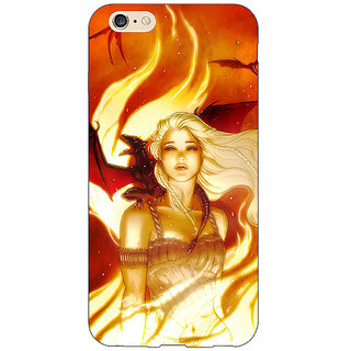 Enhance Your Phone Game Of Thrones GOT House Targaryen  Back Cover Case For Apple iPhone 6S Plus