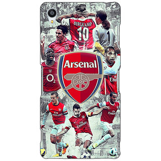 Enhance Your Phone Arsenal Therry Henry Back Cover Case For Sony Xperia Z4 E580508