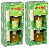 Vriddhi Reed Diffuser Gift Pack Sugandhim(Double)
