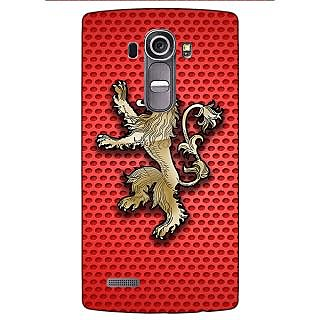 Enhance Your Phone Game Of Thrones GOT House Lannister  Back Cover Case For LG G4