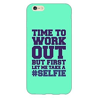 Enhance Your Phone Selfie Quote Back Cover Case For Apple iPhone 6S Plus