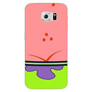 Enhance Your Phone Spongebob Patrick Back Cover Case For Samsung S6 Edge E600468