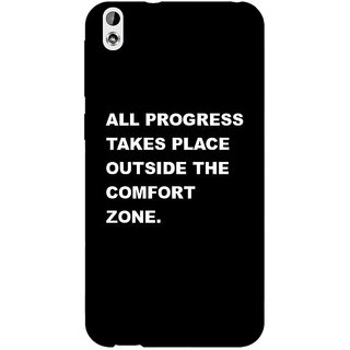 Enhance Your Phone Quote Back Cover Case For HTC Desire 816 Dual Sim