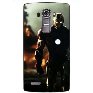 Enhance Your Phone Superheroes Ironman Back Cover Case For LG G4