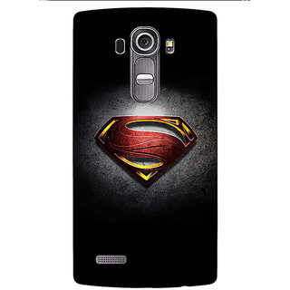Enhance Your Phone Superheroes Superman Back Cover Case For LG G4