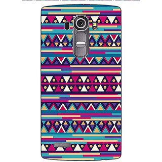 Enhance Your Phone Aztec Girly Tribal Back Cover Case For LG G4