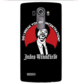 Enhance Your Phone Pulp Fiction Back Cover Case For LG G4
