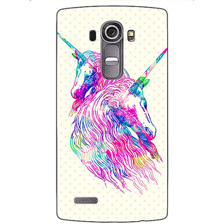 Enhance Your Phone Unicorn  Back Cover Case For LG G4