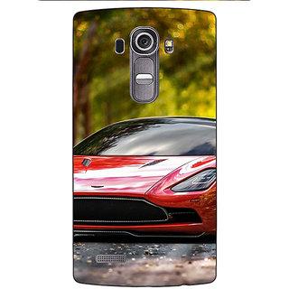 Enhance Your Phone Super Car Aston Martin Back Cover Case For LG G4