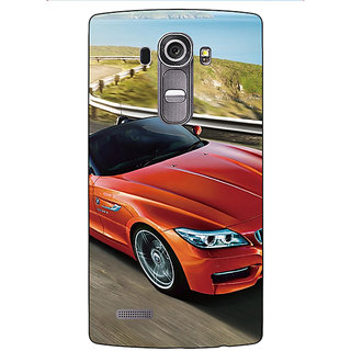 Enhance Your Phone Super Car BMW Back Cover Case For LG G4