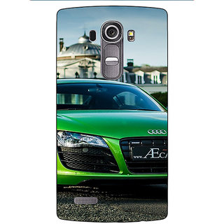 Enhance Your Phone Super Car Audi Back Cover Case For LG G4