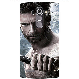 Enhance Your Phone Wolverine Hugh Jackman Back Cover Case For LG G4