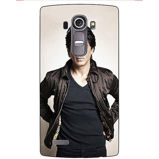 Enhance Your Phone Bollywood Superstar Shahrukh Khan Back Cover Case For LG G4