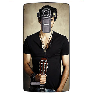 Enhance Your Phone Bollywood Superstar Aditya Roy Kapoor Back Cover Case For LG G4