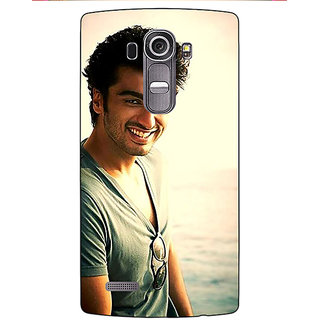 Enhance Your Phone Bollywood Superstar Arjun Kapoor Back Cover Case For LG G4